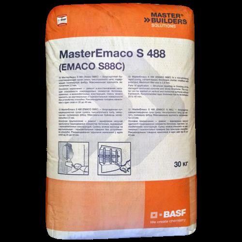 бетонная сухая смесь emaco s88c